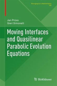Moving Interfaces and Quasilinear Parabolic Evolution Equations