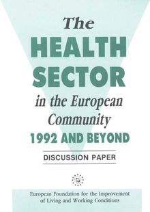 The health sector in the European Community