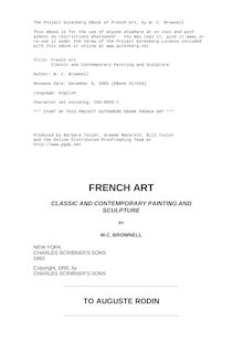 French Art - Classic and Contemporary Painting and Sculpture
