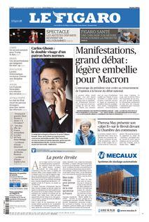 Le Figaro du 21-01-2019 - Le Figaro
