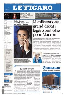 Le Figaro du 21-01-2019