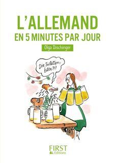 Petit livre de - Allemand en 5 mn par jour - Olga DISCHINGER