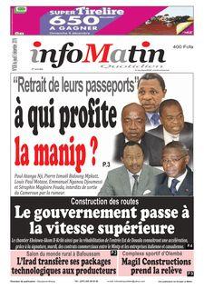 Info Matin Cameroun du 05-12-2019