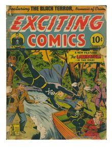 Exciting Comics 020 de  - fiche descriptive