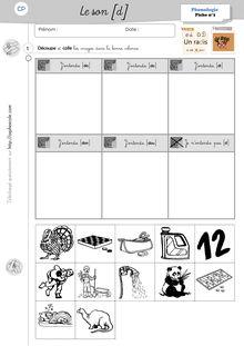 Phonologie Cp Periode 3 Les Fiches D Exercices Travaux De Classe