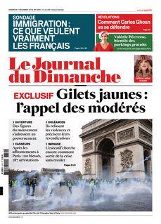 Le Journal du Dimanche du 02-12-2018 - Le Journal du Dimanche