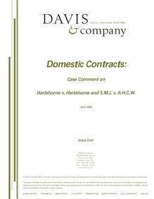 Domestic-Contracts-Case-Comment-on-Hartshorne-vdot-Hartshorne