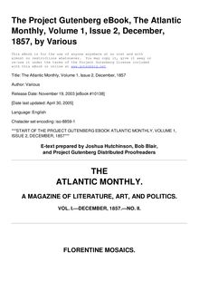 The Atlantic Monthly, Volume 01, No. 02, December, 1857