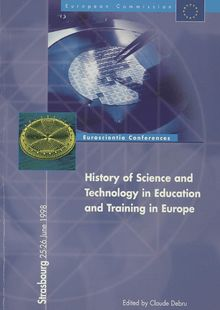 History of science and technology in education and training in Europe