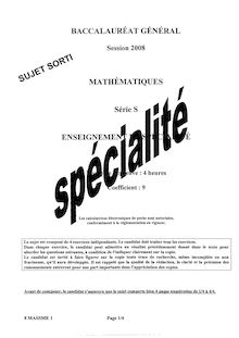 Sujet Maths Bac Metropole S specialite