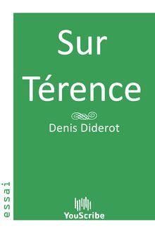 Sur Térence de Denis  Diderot - fiche descriptive