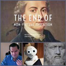 the end of non-virtual education